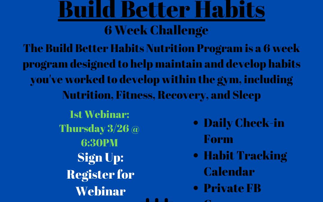 Clipper City Build Better Habits